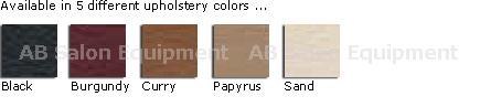 La Fleur Bench Pedicure Spa Vinyl Colors