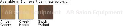La Fleur Bench Laminate Base Colors