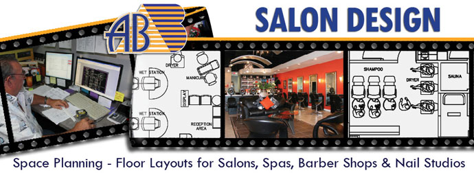Salon Design Space Planning Floor Plan Layouts For
