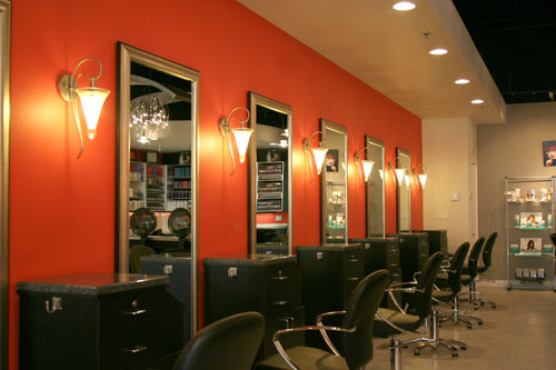 Styling stations for A b salon equipment