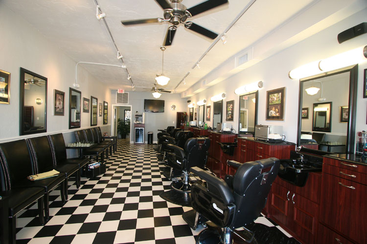 Southside village barber shop shop view for Look 4 design salon