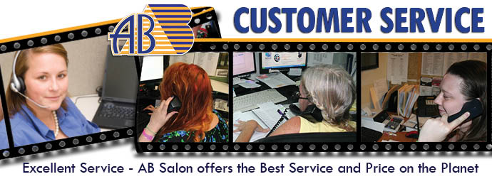 Ab salon equipment customer service sales for Ab salon equipment