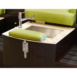 Design x 4000 d hamilton loveseat pedicure spa for Ab salon equipment