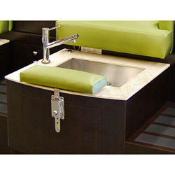 Design x dx 101s lounge single unit pedicure spa for Ab salon equipment