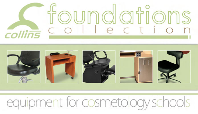 Collins Manufacturing FOUNDATIONS Cosmetology School Furniture & Equipment