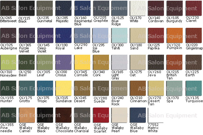 Collins upholstery colors