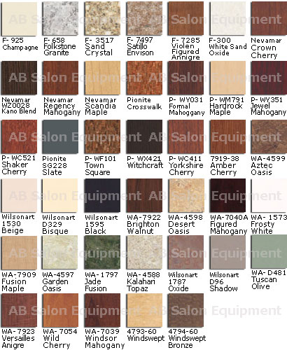Design X Laminate Selections