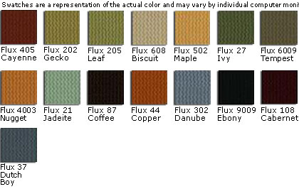 Gulfstream Custom Fabric Colors - Flux