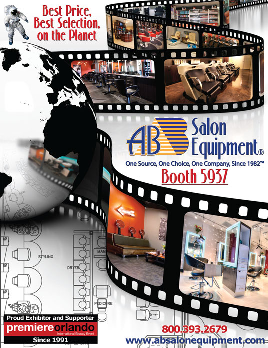 AB Salon Equipment Booth # 5937 Premiere Orlando, June 2nd - June 4th, 2018
