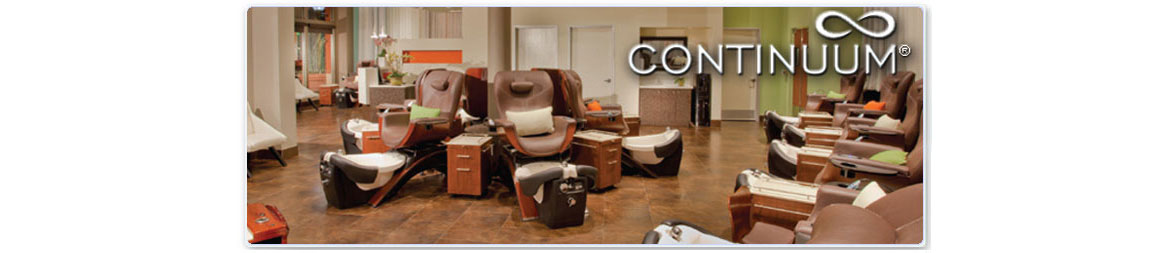 Continuum Footspas Pedicure Chairs