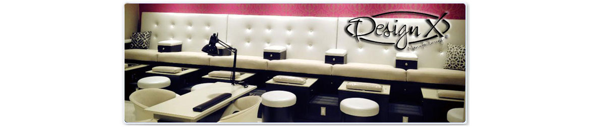Design X - Salon Stations, Reception Desks, Pedicure Spas
