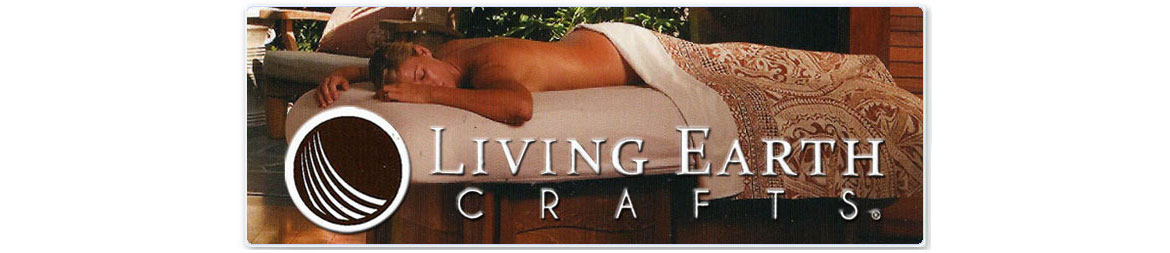 Living Earth Crafts Massage Tables, Pedicure Chairs, & Treatment Tables