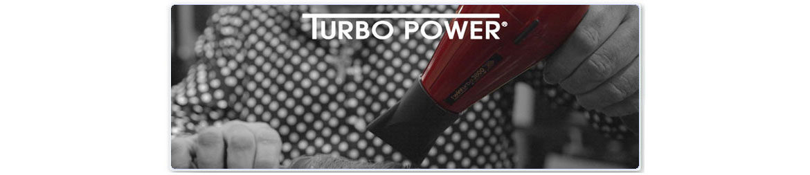 Turbo Power Hair Dryers, Flat Irons, Brushes, & Accessories