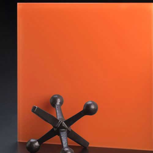 SoftEtch Glass Color Orange