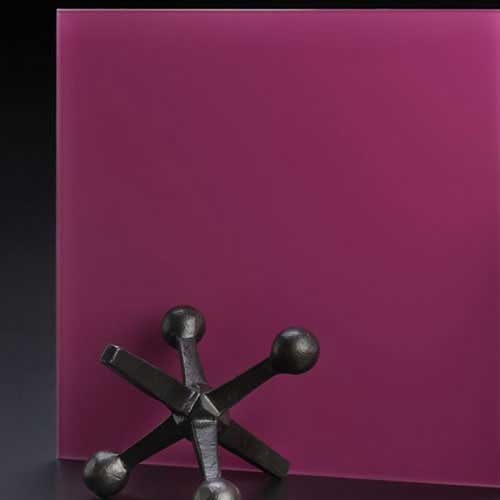 SoftEtch Glass Color Pink (Magenta)