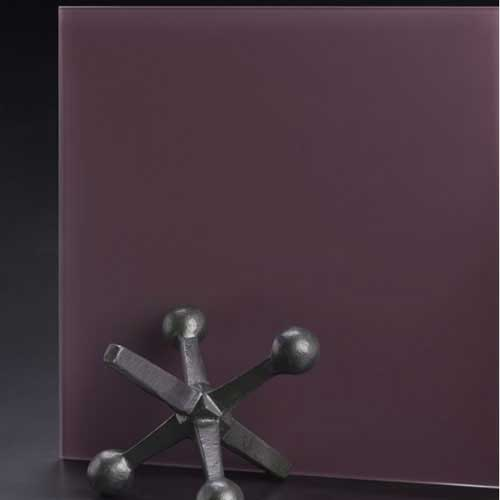 SoftEtch Glass Color Purple