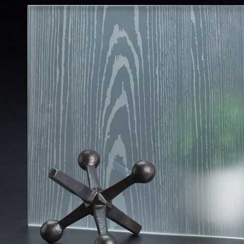 SoftEtch Glass Pattern Timber Vertical