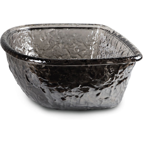 Black Nickel Glass Bowl