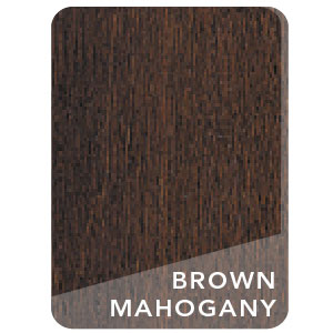 Brown Mahogany Stain