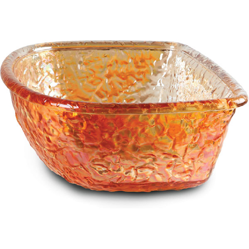Gold Reflections Glass Bowl