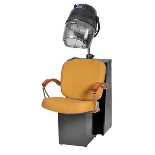 Pibbs 5968A Samantha Dryer Chair For Pole Dryer w/ Black Steel Base