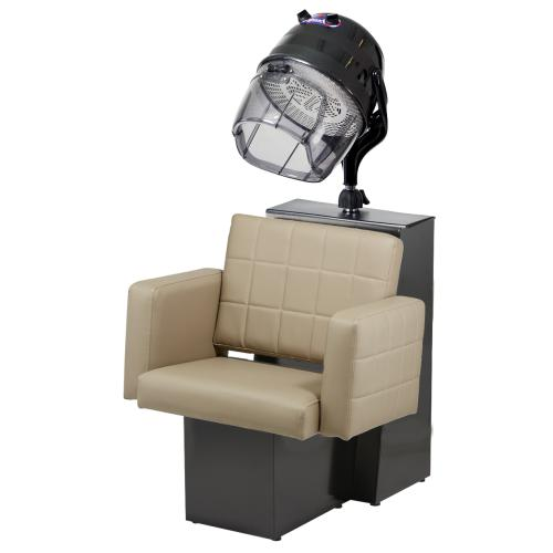 Pibbs 2168 Matera Dryer Chair - Black Steel Base (For Pole Dryer)