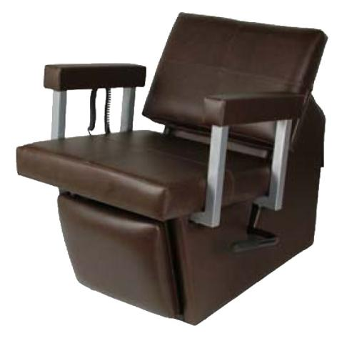 Collins 67ES Quarta Electric Shampoo Chair w/ Kickout Legrest