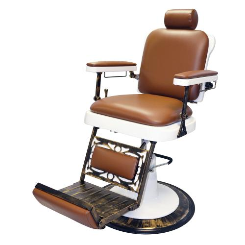 Pibbs 662 The King Barber Chair w/ White Base