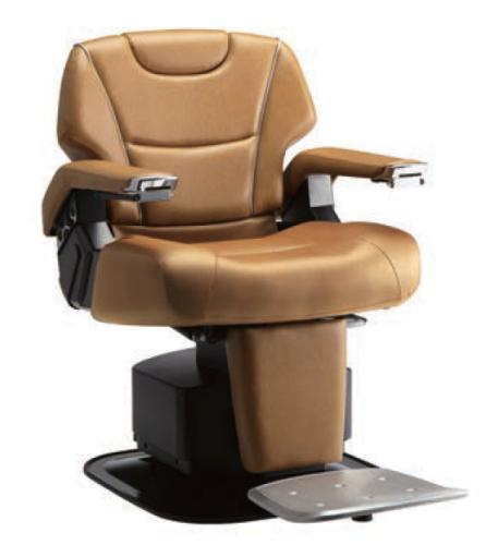Takara Belmont BB-HPBNBLK/DBR/LBR Lancer Basic Type Barber Chair