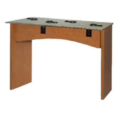 Belvedere Edge EDU130-48 Vantage Student Table Styling Station - Laminate