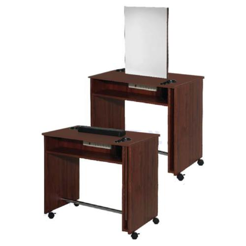 Belvedere Edge EDU231 Manicure Table / Double Styling Vanity - Laminate
