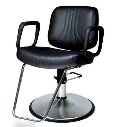 Belvedere Delta PSBD82-BL Hair Styling Salon Chair w/ PS12FC Base
