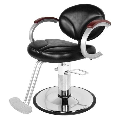 Collins 9100 Silhouette Hair Styling Chair w/ Hydraulic Base Options