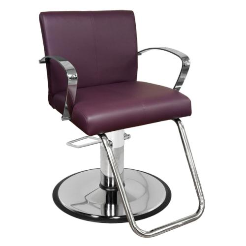 Collins 4700 Mallory Hair Styling Salon Chair w/ Hydraulic Base Option