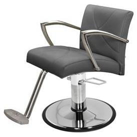 Collins 4900 Callie Hair Styling Salon Chair w/ Hydraulic Base Options