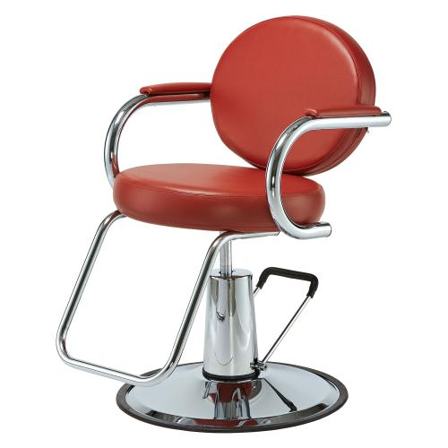 Pibbs 4206 Como Hair Styling Chair w/ Hydraulic Base Options