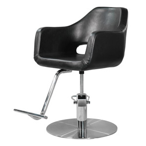 YCC Products Y102BK Nautilus Styling Chair