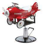 Pibbs 1810 Children's Styling Chair - Airplane