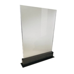 RD2002TFL-FR Tall Frosted Acrylic Partition