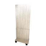 Q63835TFL-MO Tall Laminated Mobile Partition