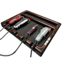 Akra Plastics 1008 Barber Tray w/ 5 Sections - Premium Colors