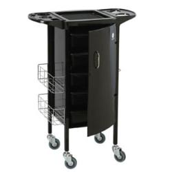 Garfield International HT-02 Lockable Metal Hair Trolley Rollabout