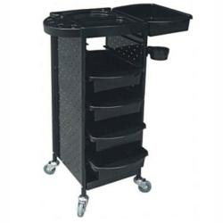 Salon Equipment Pros SEP-T38BLK Janice Metal Salon Trolley