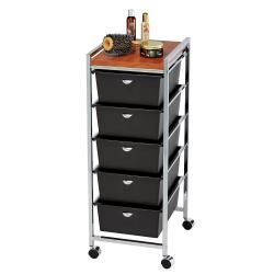 Pibbs D28WD High Capacity Salon Utility Cart