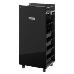Salon Ambience TR/12 Glam Trolley Black Panels - Black Trays