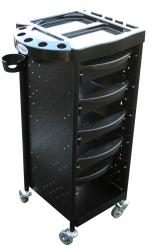 Athena HD-138B Hairdressing Trolley Rollabout