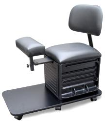 Dina Meri 2318 Pedi Board Pedi Station w/ Back Rest