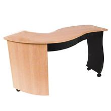 AB Salon Equipment 70050 S-Shaped Nail Table