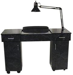AB Salon Equipment 76460 New Yorker Nail Table
