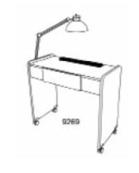 Koken 9269V Comet Vented Manicure Table